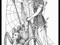 Hiyahiya S History Of Knitting The Great Weaver Arachne S Battle With Athena