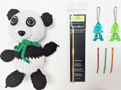 Crochet Your Own Picco The Panda!