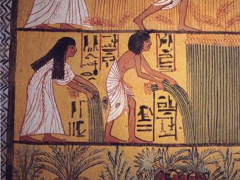 Hiyahiya S History Of Knitting Linen Of The Egyptians