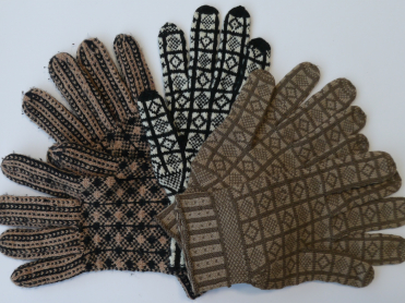 Hiyahiya S History Of Knitting Sanquhar Pattern