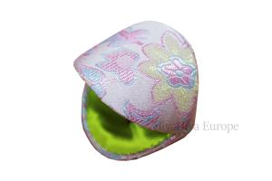 Dumpling Case and Pink Stitch Markers Set