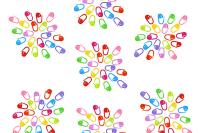 Colour Locking Stitch Markers Bundle