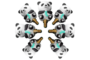 Panda Cable Stoppers Bundle